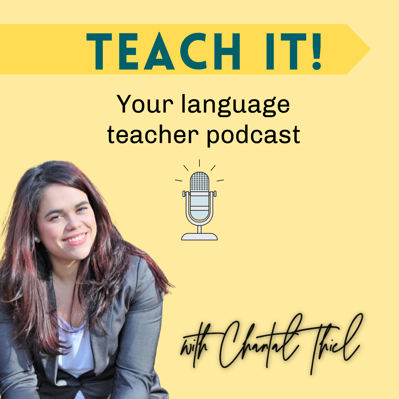 Teach It! Your Language Trainer Podcast   Teaching and Business-Building Strategies  Cover