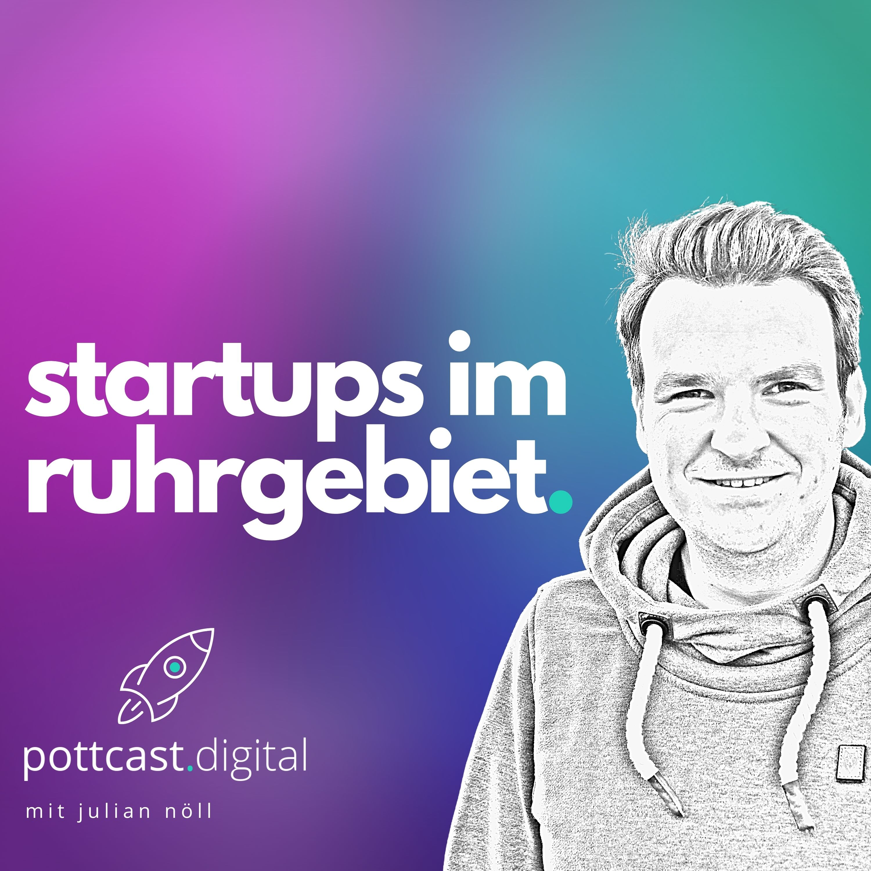 pottcast.digital - Der Podcast für Startups im Ruhrgebiet Cover