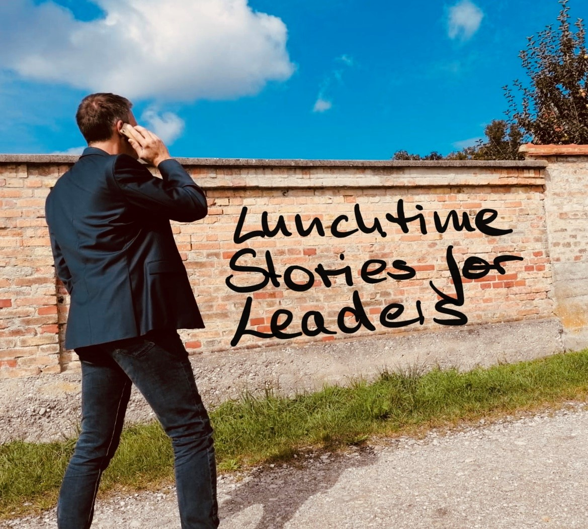 Lunchtime Stories for Leaders Cover