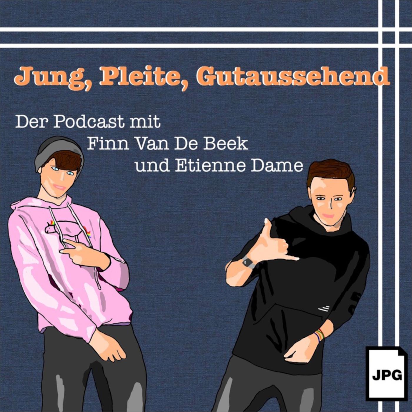 Jung, Pleite, Gutaussehend Cover