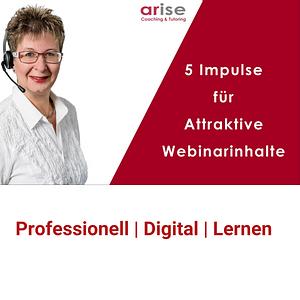 """""""5 praktischen Schritten, um Webinare interessanter zu gestalten"""""""
