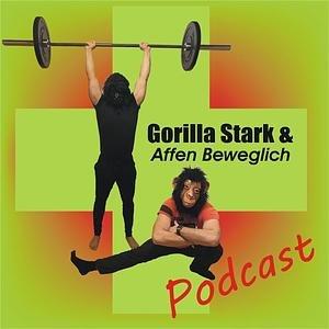 Gorilla Stark und Affen Beweglich Podcast
