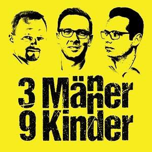 3 Männer - 9 Kinder