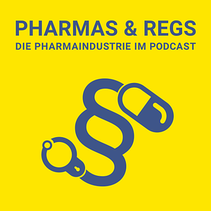 Pharmas & Regs Podcast Cover